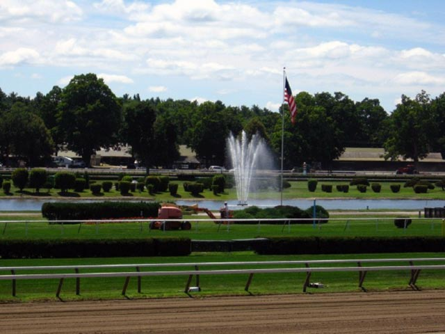 Athletic Field - Saratoga Racecourse infield