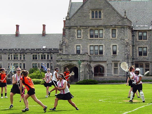 Athletic Field - Lacrosse at Emma Willard School in Troy, NY