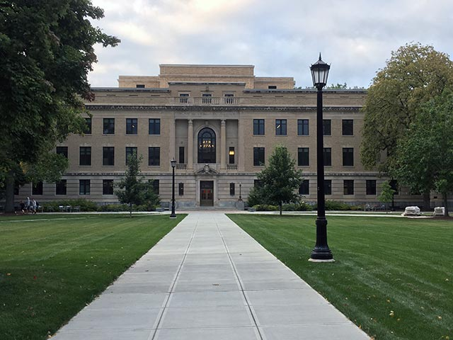 Commercial - Cornell University AG quad