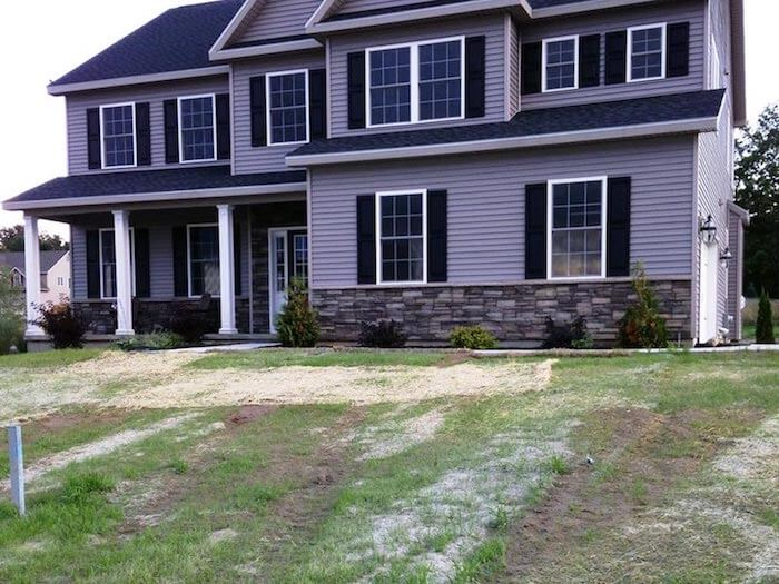 Patchy Lawn From Grass Seeding